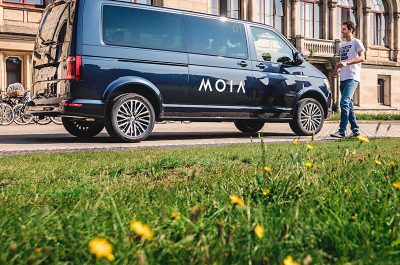 Moia im Test in Hannover