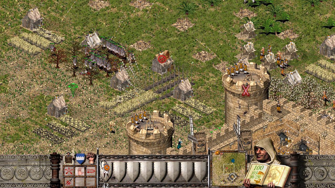 Die Schlachten finden zwar später im Spiel statt, fühlen aber aufgrund der benötigten Truppengröße oft sehr imposant an.
