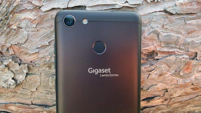 Gigaset GS280 Kamera Fingerabdruckscanner