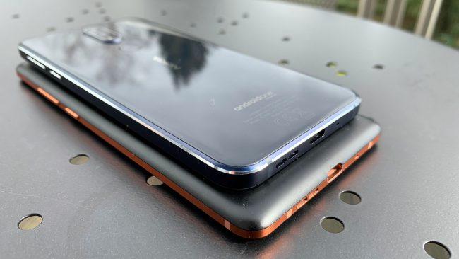 Größenvergleich Nokia 7.1 und Nokia 7 Plus