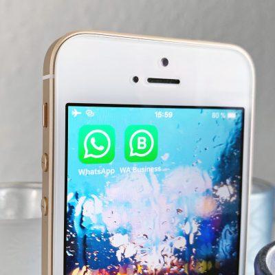 WhatsApp für Privat- und Geschäftsnutzer