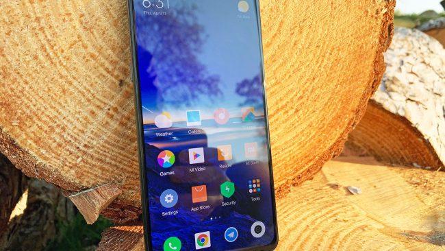 Xiaomi Mi Mix 3 Vorderseite