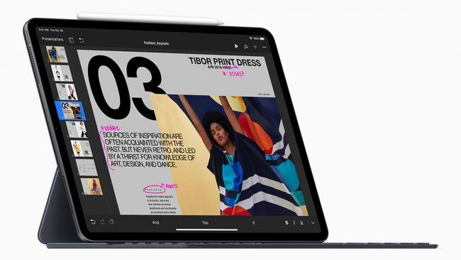 iPad Pro 2018 / Image by Apple