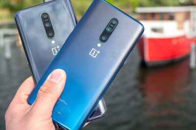 OnePlus 7 Pro Nebula Blue Mirror Grey