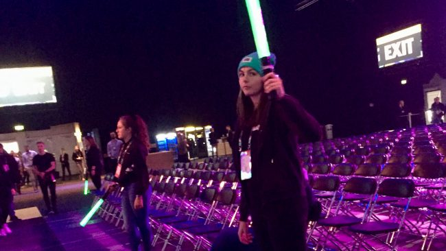 OMR Festival starwars power