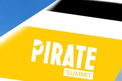 Vom 26. bis 28. Juni findet in Köln wieder der Pirate Summit statt.