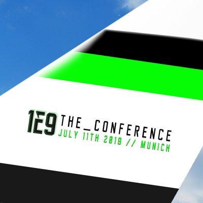 1E9 the_conference Partnergrafik