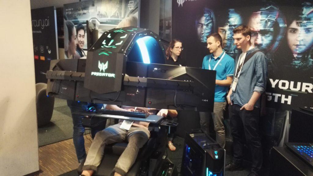 Gaming Setup von Acer
