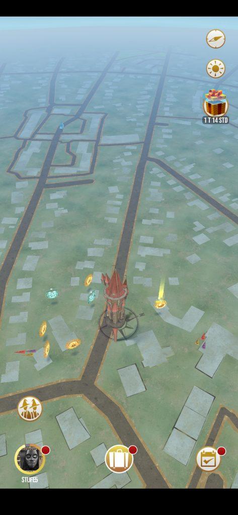 Karte am Stadtrand