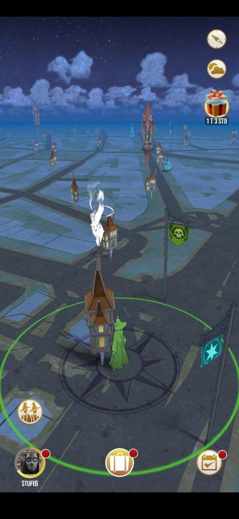 Karte in der Stadt
