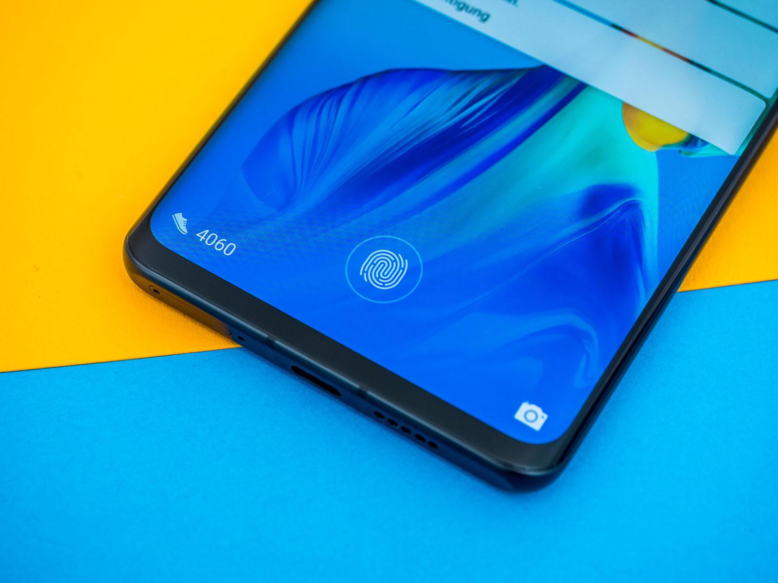 Huawei P30 Pro im Test: Fingerabdruckscanner