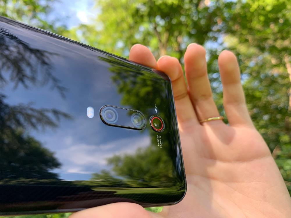 Die Kamera des Mi 9T / Image by Timo Brauer