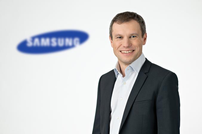 Porträt Mike Henkelmann von Samsung