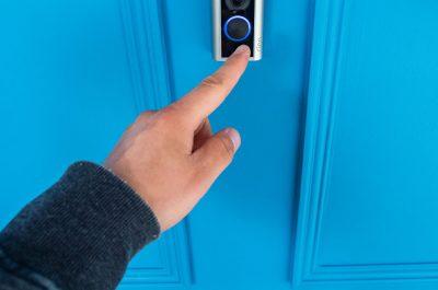 Ring Door View Cam wird geklingelt