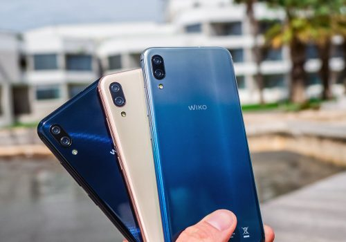 Wiko View 3 Lite alle Farben Night Blue Blush Gold Bleen
