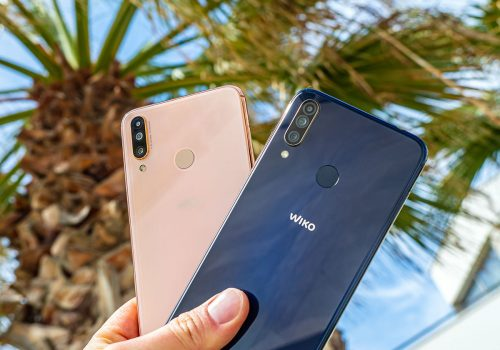 Wiko View 3 Gold und Wiko View 3 Pro Anthracite Blue/Gold