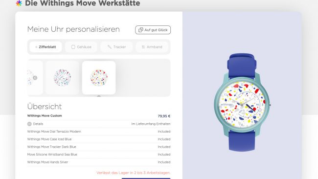 Withings Move Online-Werkstatt