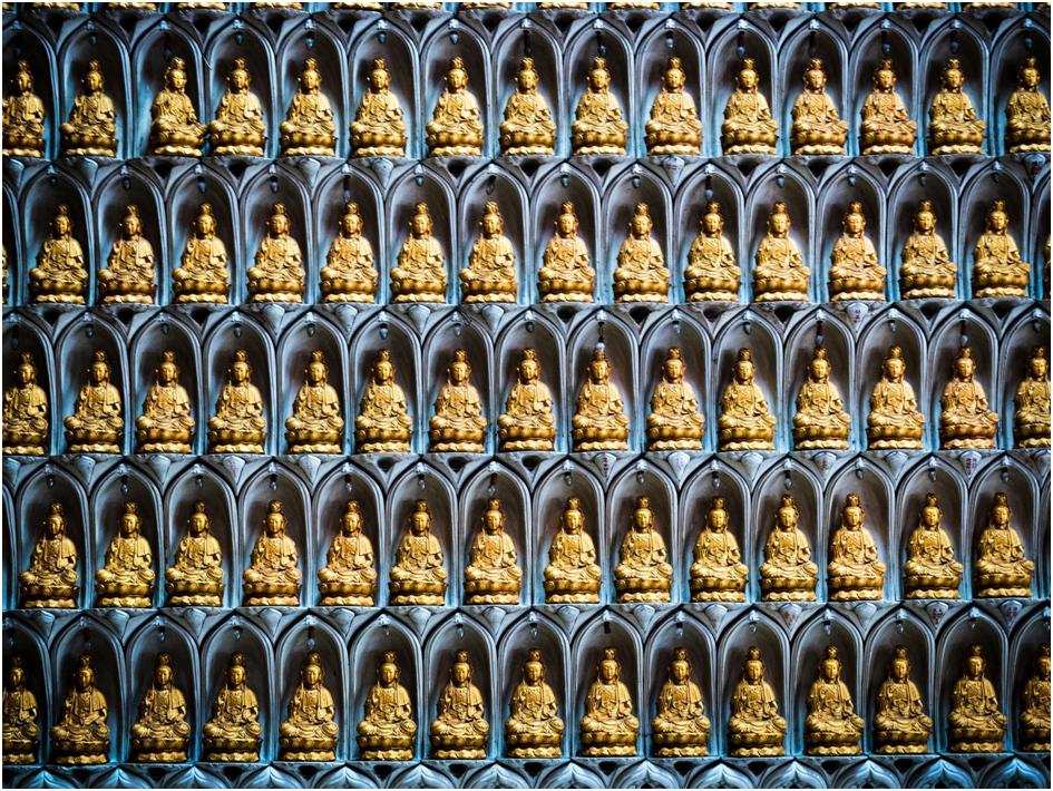 Ganz viele Buddhas