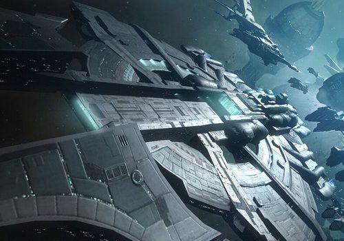 EVE Echoes Bild eines Raumschiffs