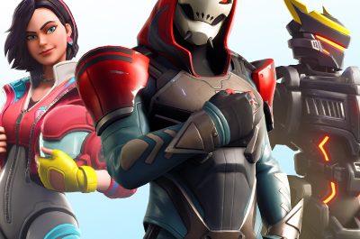 Fortnite World Cup Teaserimage - drei Charaktere nebeneinander / Image by IGDB / Epic Games