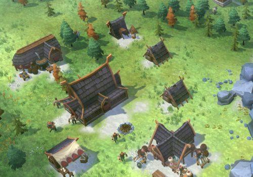 Spielszene aus Northgard