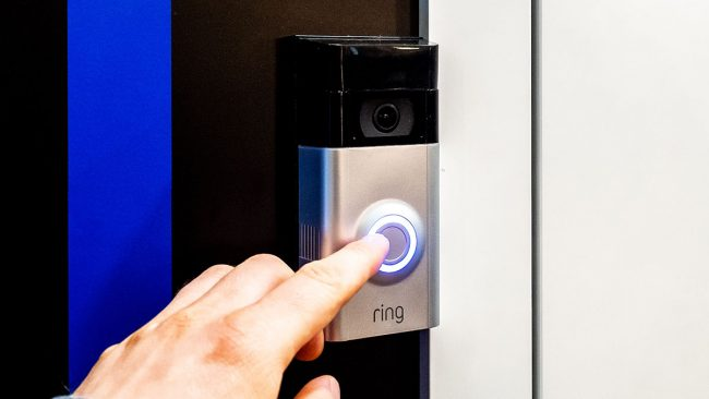 Samsung SmartThings Ring Door Bell