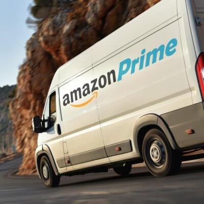Amazon Prime Lieferwagen