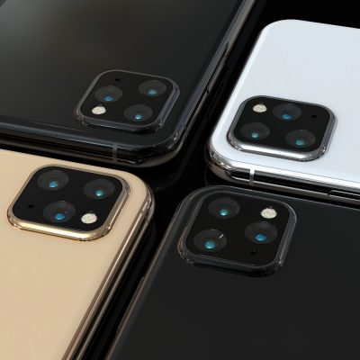 Potentielles Design des neuen iPhone 11