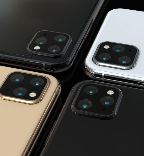 Potentielles Design des neuen iPhone 11