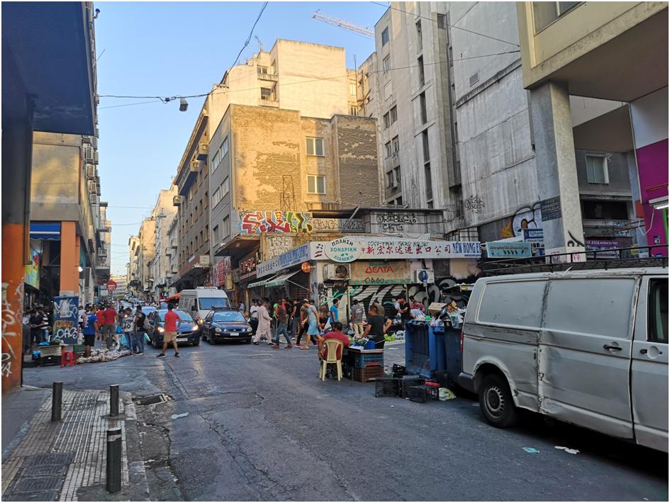 Der Stadtteil Xayteia in Athen