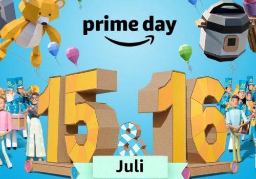 Werbegrafik für den Amazon Prime Day am 15. und 16. Juli