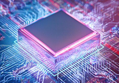 Bild eines Prozessors