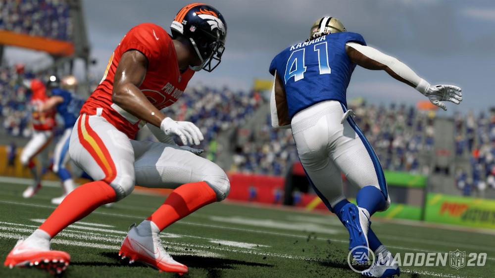 Die besten Sportspiele Artwork von Madden NFL 20 / Image by EA via IGDB