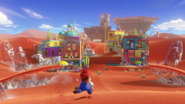 Super Mario Odyssey Screenshot / Image by IGDB