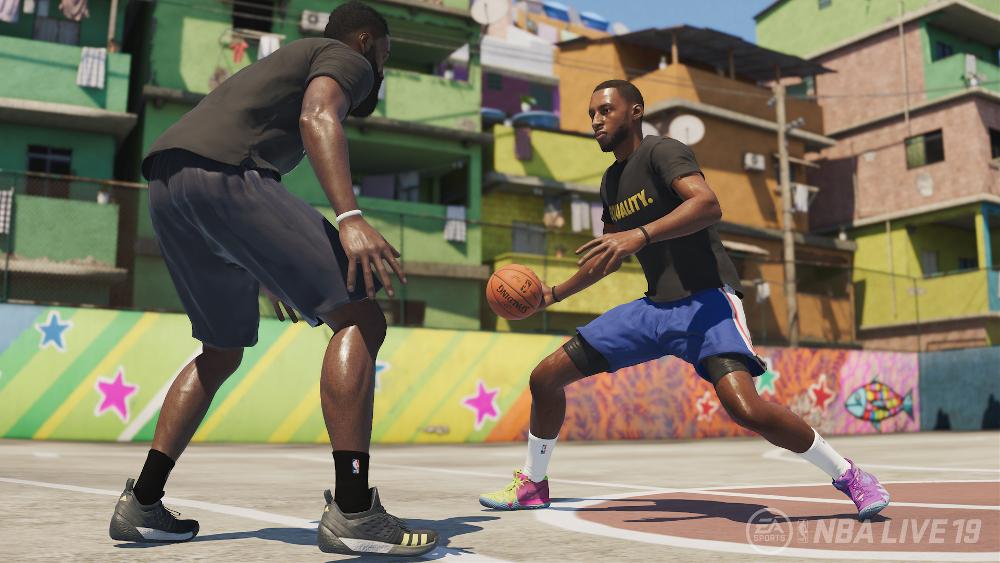 Die besten Sportspiele Screenshot aus NBA Live 19 / Image by EA via IGDB