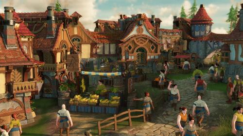 Eine Stadt in Die Siedler