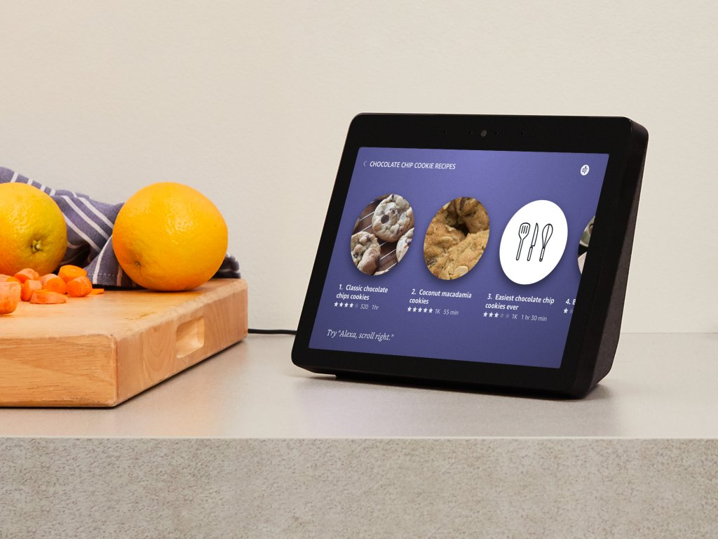 Alexa-Lautsprecher mit Display Amazon Echo Show 2