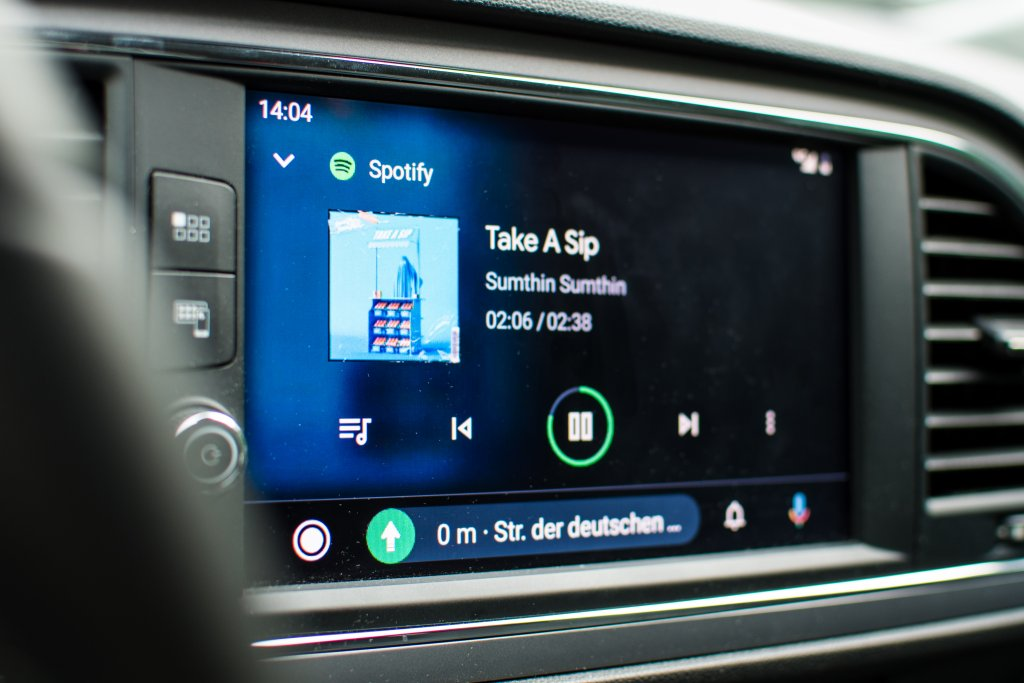 Spotify auf Android Auto