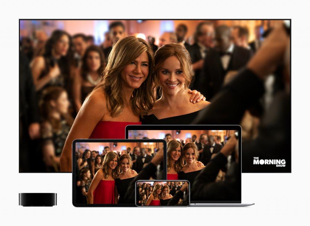 Apple TV+ startet für 4,99 Dollar monatlich. - Image by Apple