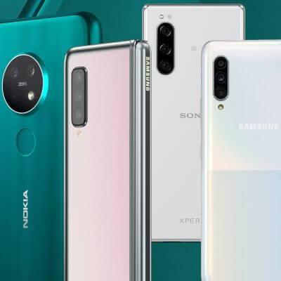 Die besten Smartphone-Neuvorstellungen der IFA 2019 - Image by Samsung, Sony, HMD Global
