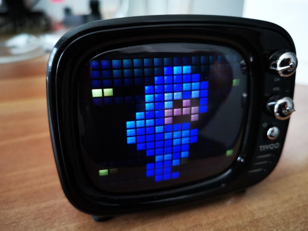 Megaman als Pixelart