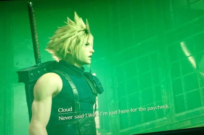 Final Fantasy Demo / Image by Lisa Kneidl