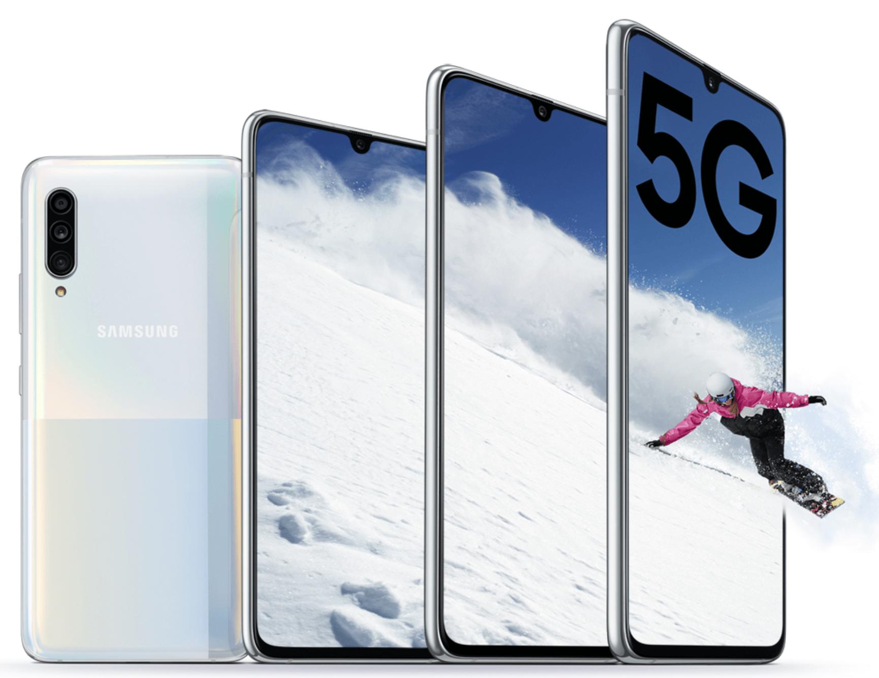 Die besten Smartphones der IFA 2019: Samsung Galaxy A90 5G - Image by Samsung
