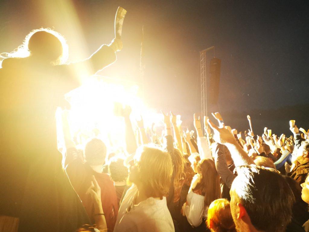 Stimmung auf einem Feuerschwanz Konzert