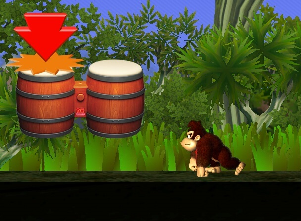 DK Jungle Beats Bongosteuerung