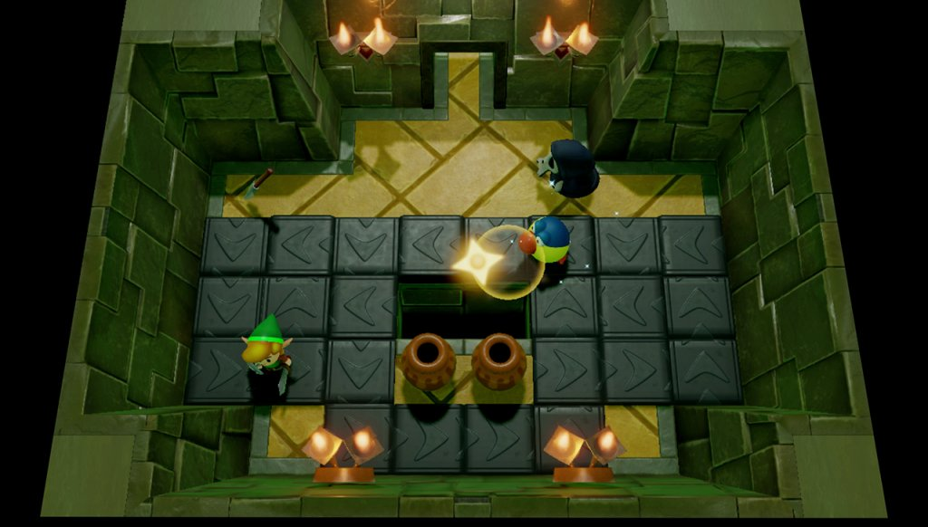 Dungeon-Kammer in Link's Awakening