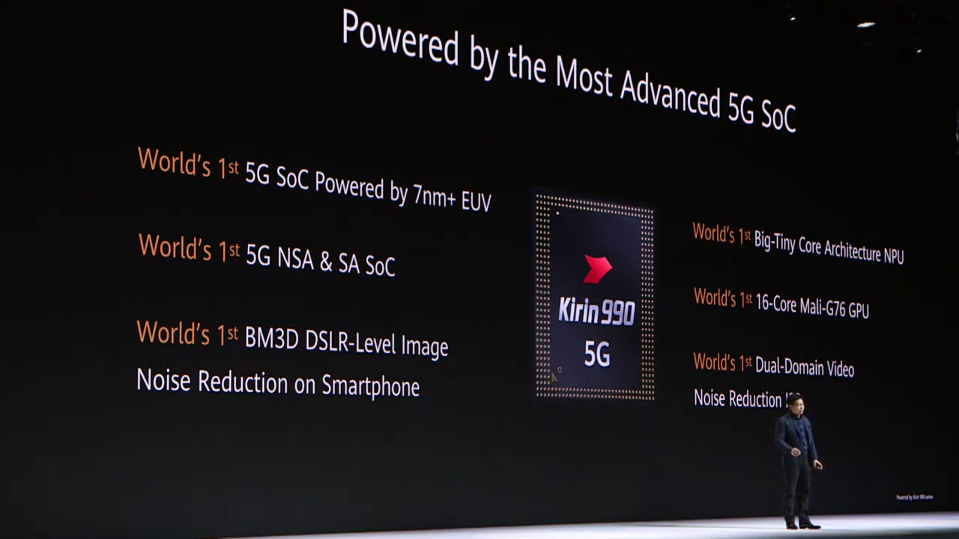 Huawei Pressekonferenz zum Mate 30 Pro