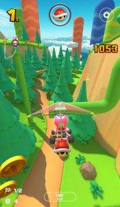 Gebirgspfad in Mario Kart Tour