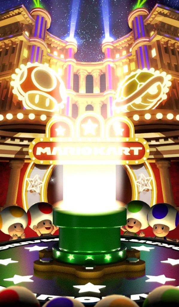 Der Röhrenschuss in Mario Kart Tour