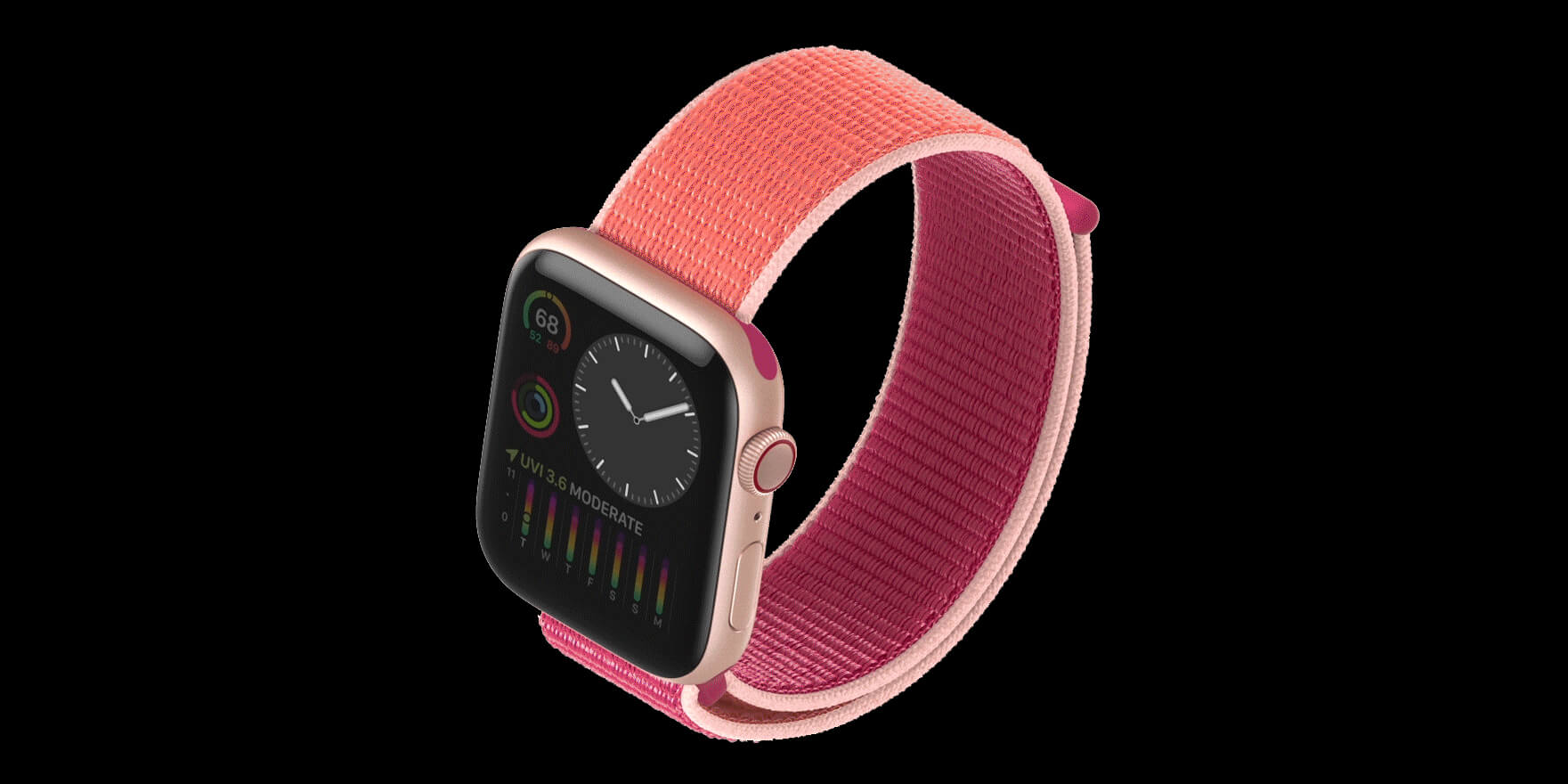 Apple Watch Series 5 mit Always-On-Display - Image by Apple